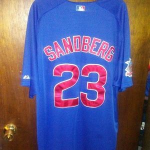 Chicago cubs retired #23 Sandberg jersey